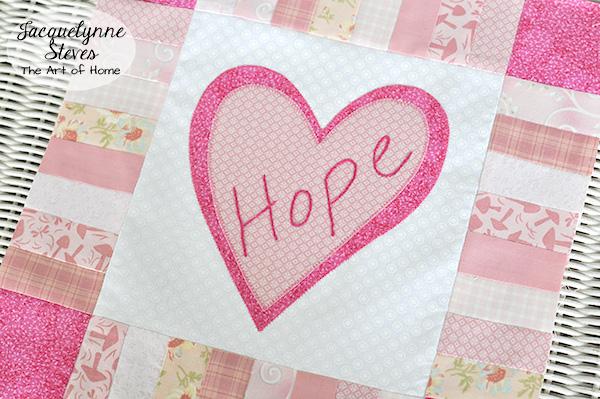 Pink Quilt Block Pattern