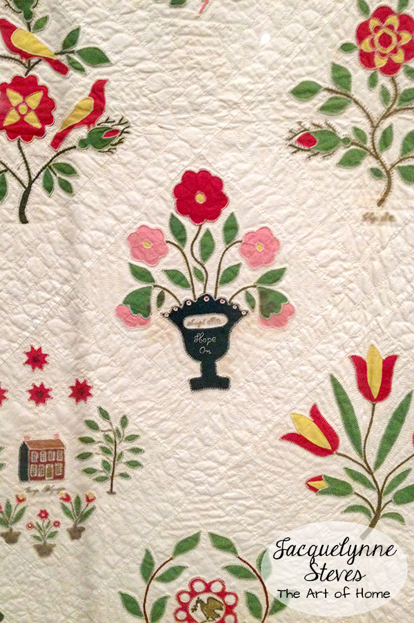 Historic Quilt and Needlework Samples