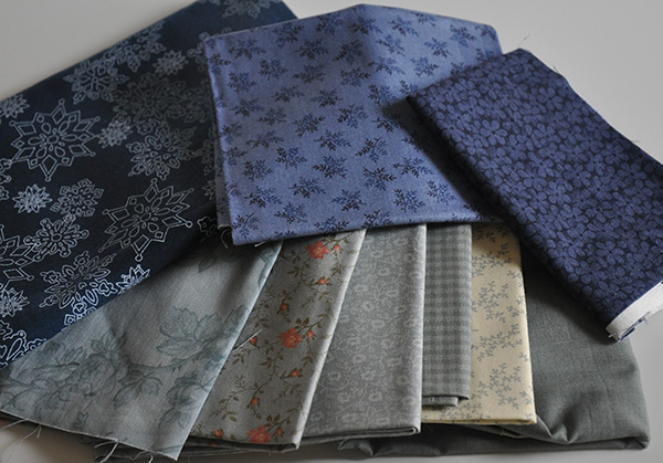 How to Choose Quilt Fabrics- Winter Blues