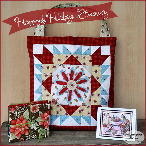 Handmade Holidays Giveaway!!