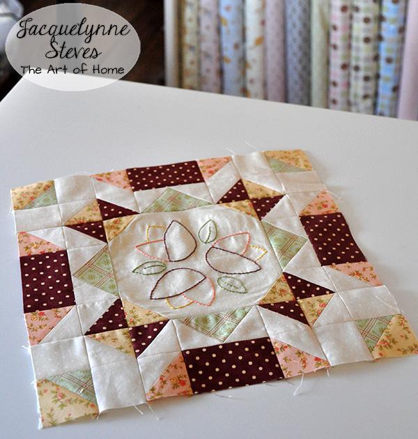 Bonus Block 1 Variation- Sew Sweet Simplicity Free BOM- Jacquelynne Steves
