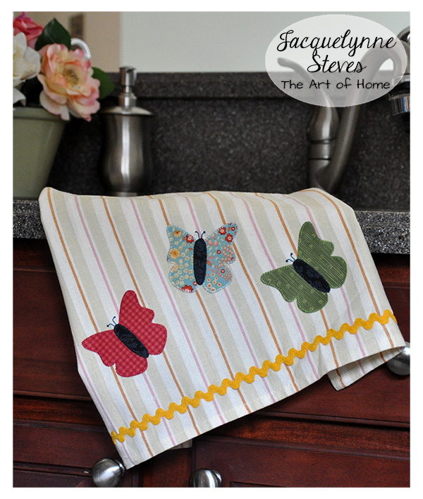 Butterfly Tea Towel Pattern