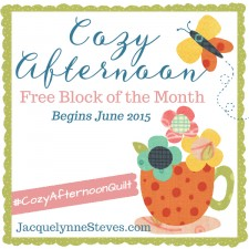 Cozy Afternoon Free Block of the Month- Jacquelynne Steves