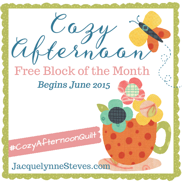 Introducing: Cozy Afternoon Free Block of the Month 2015!