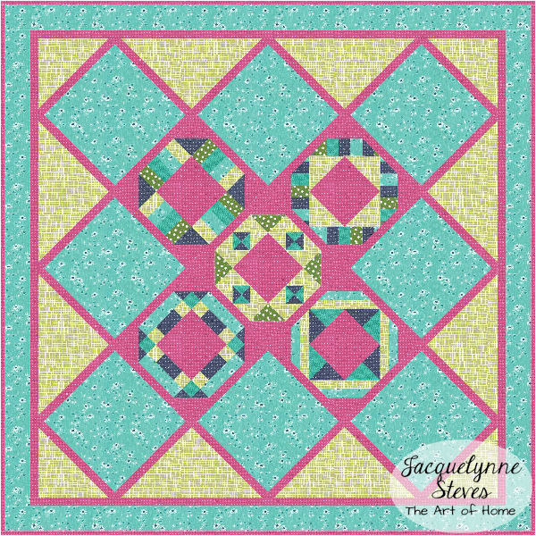 Colorway & Fabric Ideas for Cozy Afternoon Free Block of the Month