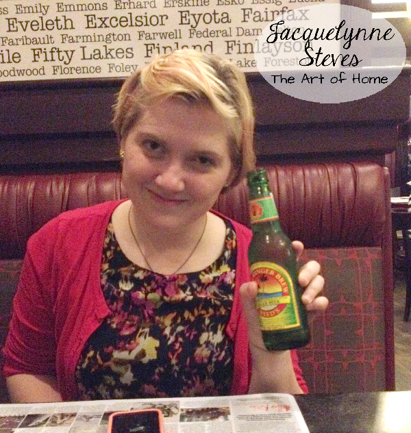 Quilt Market Spring 2015- Daughter at dinner
