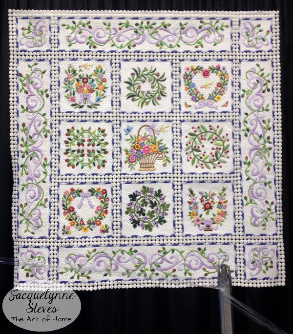 Quilt Market Spring 2015 Exhibit- A Soft Breeze by Kayoko Hata 1