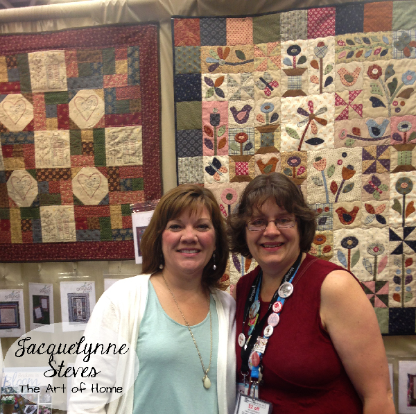 Quilt Market Spring 2015- Jacquelynne Steves and Gail Pan