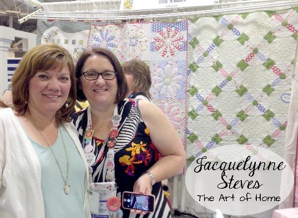 Quilt Market Spring 2015- Jacquelynne Steves and Helen Stubbings