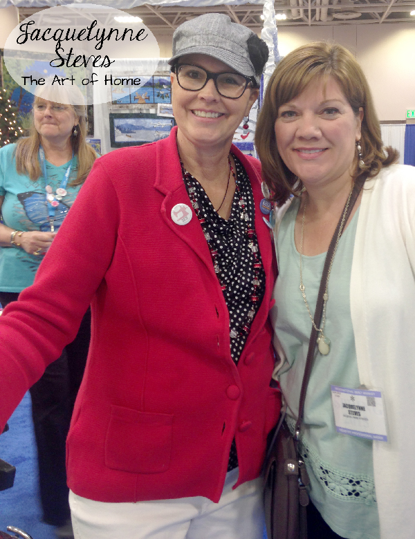 Quilt Market Spring 2015- Jill Finley and Jacquelynne Steves