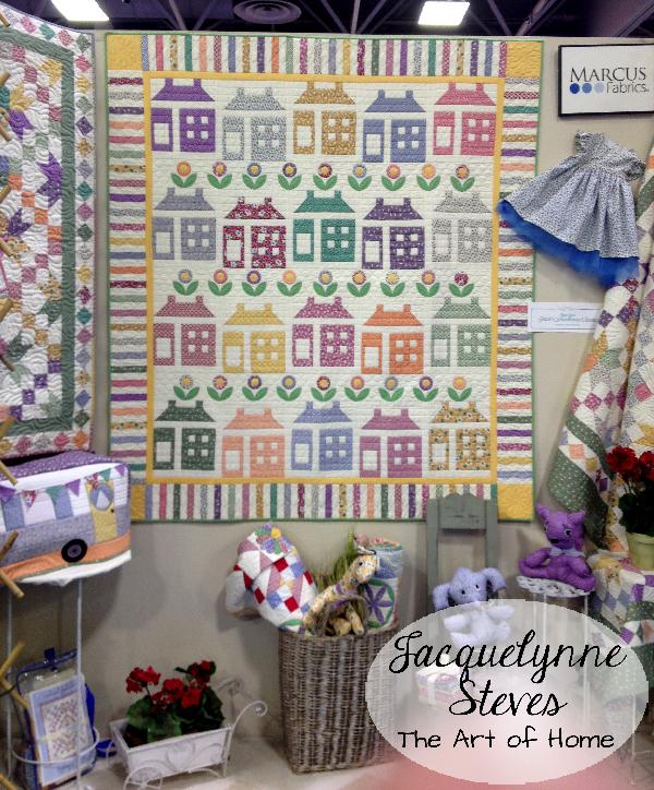 Quilt Market Spring 2015- Marcus Brothers- Gracies Schoolhouse Classics