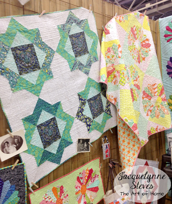 Quilt Market Spring 2015- May Chappell booth 2