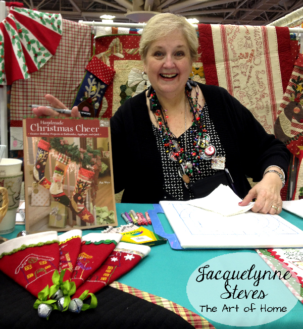 Quilt Market Spring 2015- Pat Wys- Handmade Holiday Cheer