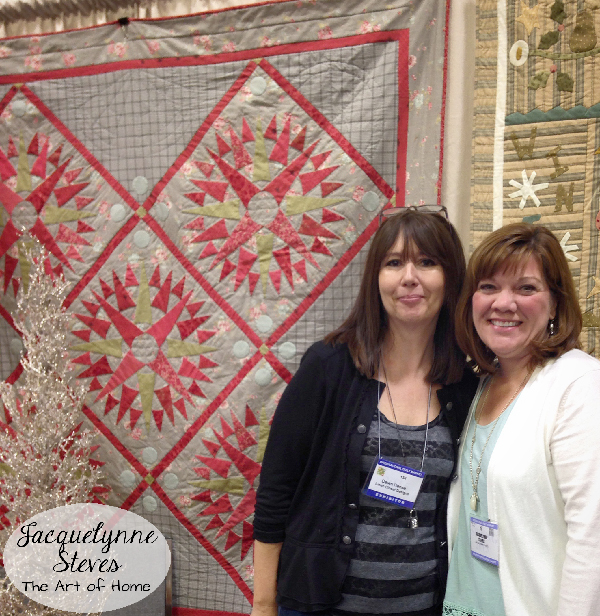 Quilt Market Spring 2015_Dawn Heese and Jacquelynne Steves