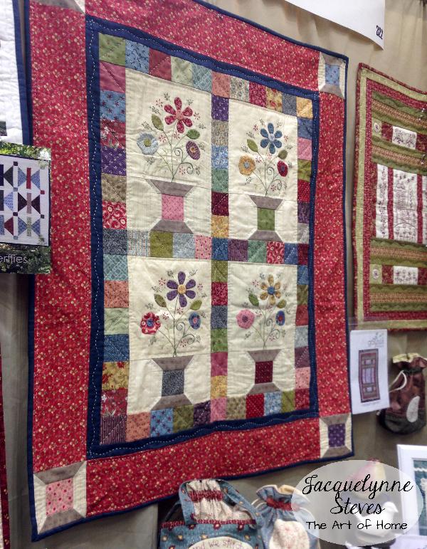 Quilt market Spring 2015 Gail Pan booth