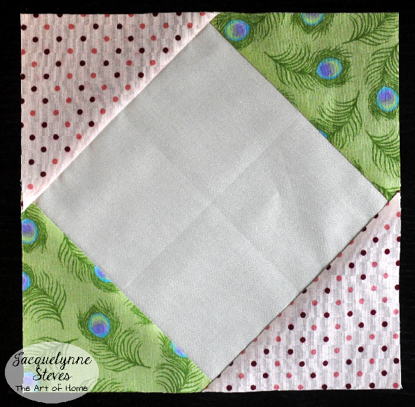 Square In a Square Block Tutorial- Jacquelynne Steves h