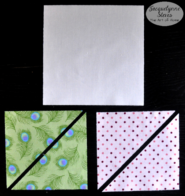 Square in a Square Block Tutorial- Jacquelynne Steves a