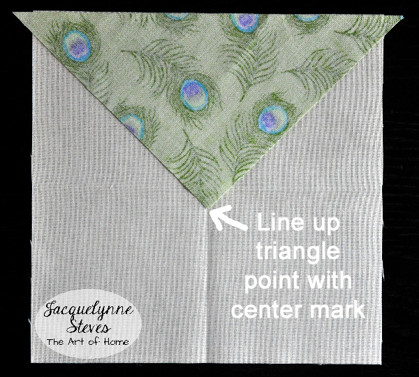 Square in a Square Block Tutorial- Jacquelynne Steves c