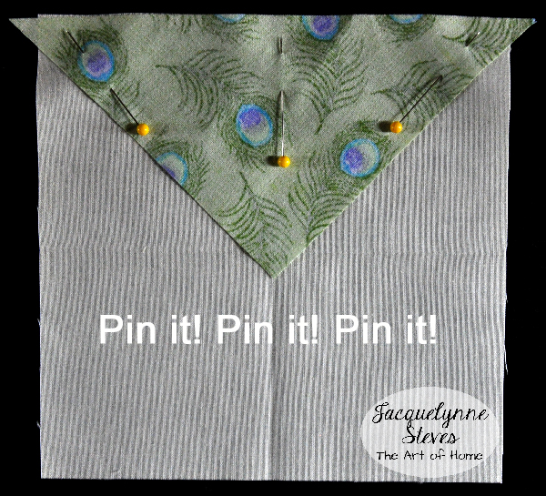 Square in a Square Block Tutorial- Jacquelynne Steves d