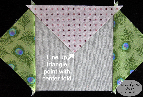 Square in a Square Block Tutorial- Jacquelynne Steves f