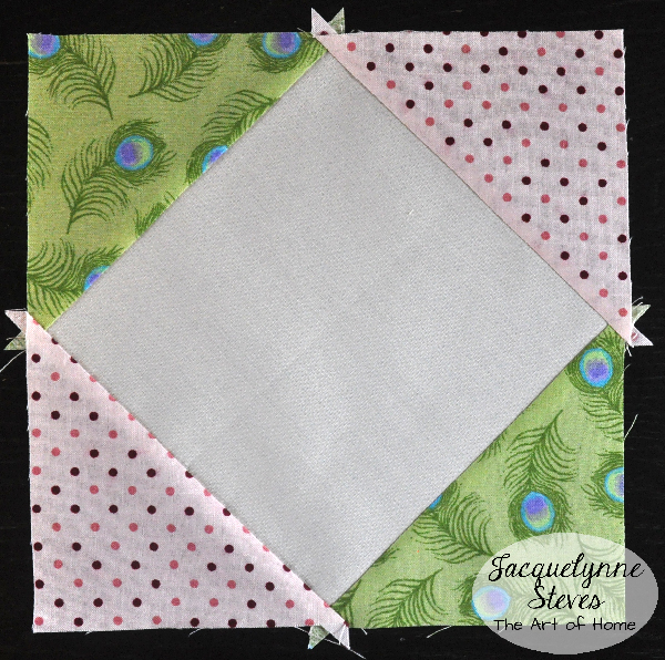 Square in a Square Block Tutorial- Jacquelynne Steves g