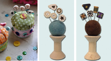 Decorative Pins for Pin Cushion- Jacquelynne Steves