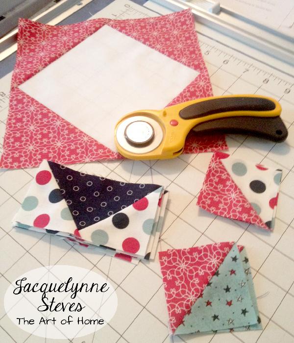 Red White Blue Quilt- Jacquelynne Steves