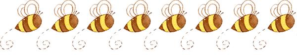 Border- Bee- Jacquelynne Steves