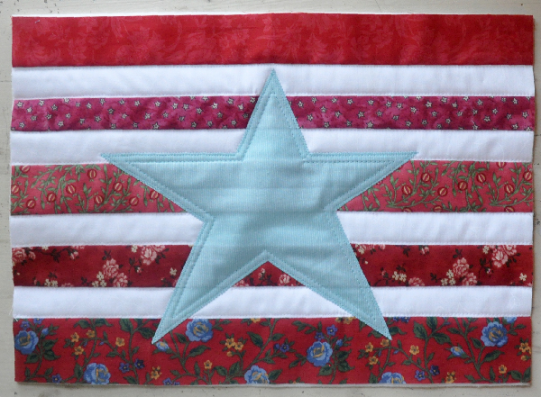 Patriotic Patchwork Pillow- Jacquelynne Steves-4