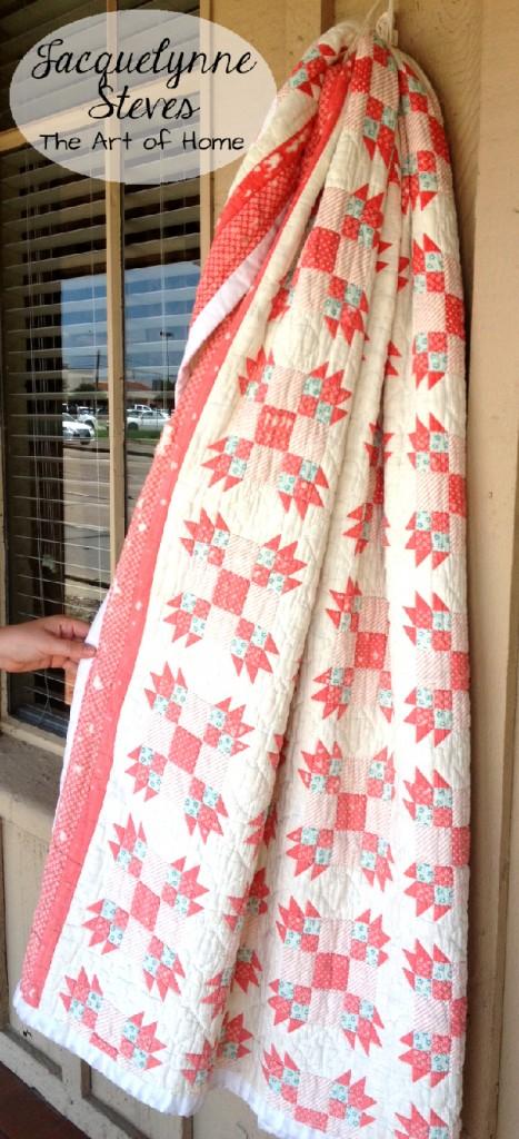 Vintage Quilt2- Jacquelynne Steves