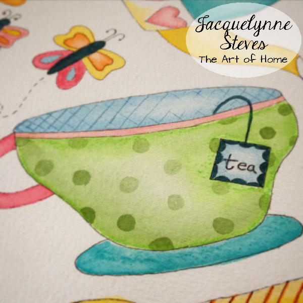 teacup art- Jacquelynne Steves_