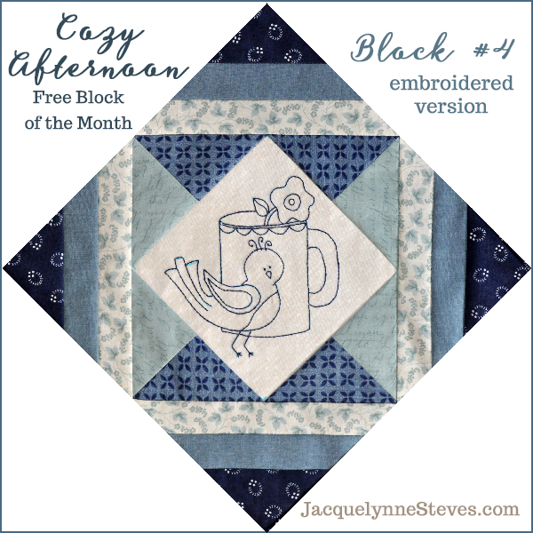 Cozy Afternoon Block 4 is here!!