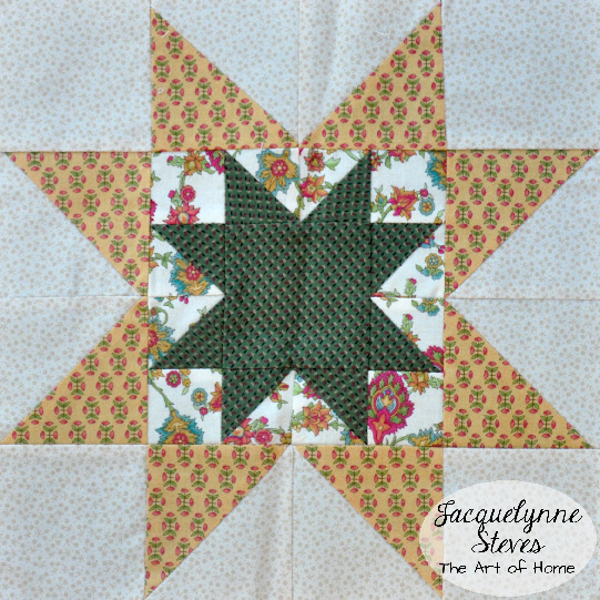 Double Star Block- Jacquelynne Steves