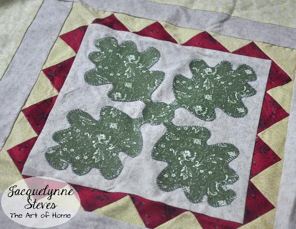 Oak Leaf Block- Jacquelynne Steves