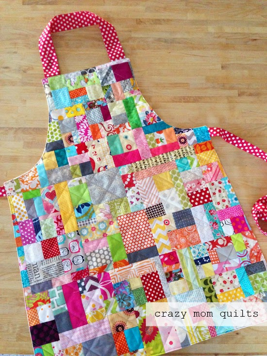 scrap happy apron 1