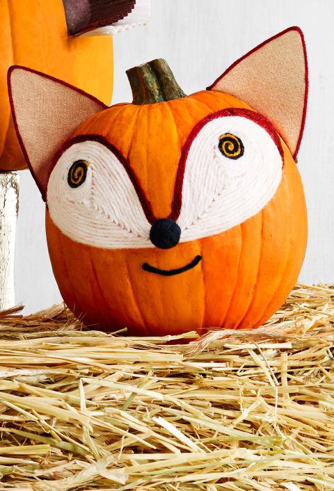Fox Pumpkin