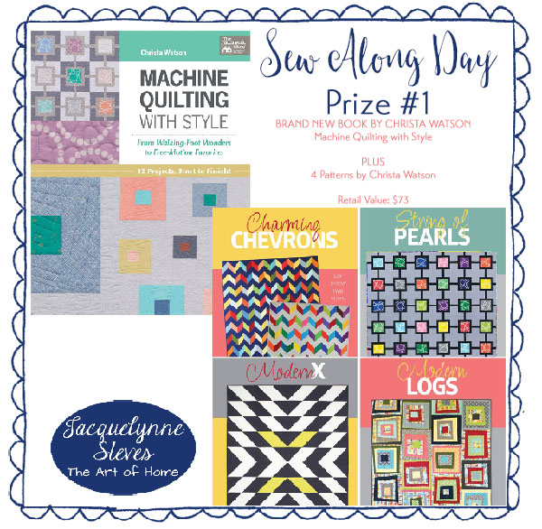 Prize One- Sew Along Day- Jacquelynne Steves