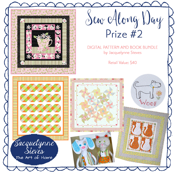 Prize Two- Sew Along Day- Jacquelynne Steves