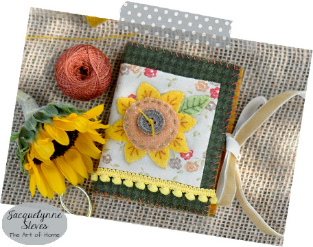 Sunflower Needle book- Jacquelynne Steves