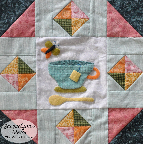 Wool Applique- Cozy Afternoon- Jacquelynne Steves