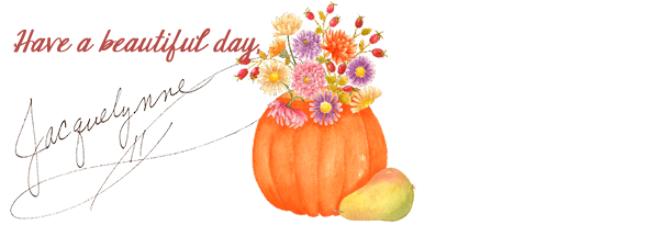 Beautiful Day Autumn Floral Art- Jacquelynne Steves