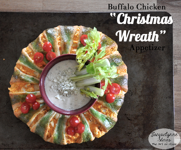 Buffalo Chicken Appetizer for Christmas