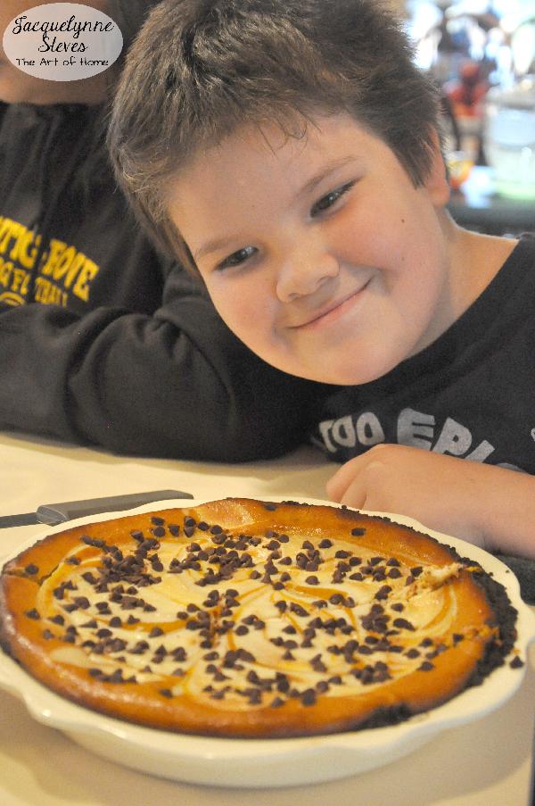 D and Pumpkin Cheesecake Pie- Jacquelynne Steves