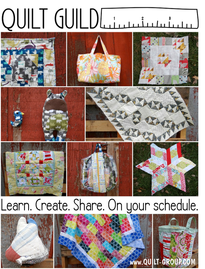 I'm a guest designer at the Patchwork Posse Online Quilt Group!