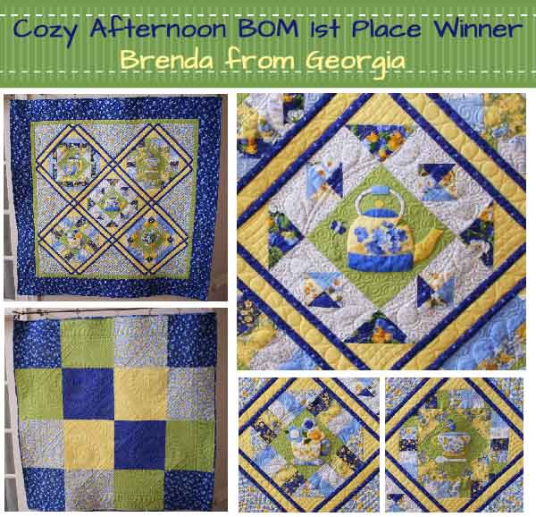 Cozy Afternoon Contest Winners!!