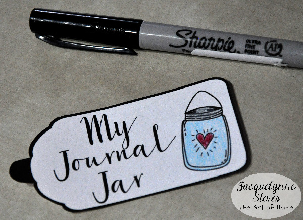 Journal Jar- Jacquelynne Steves- c