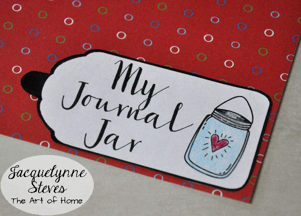 Journal Jar- Jacquelynne Steves-d