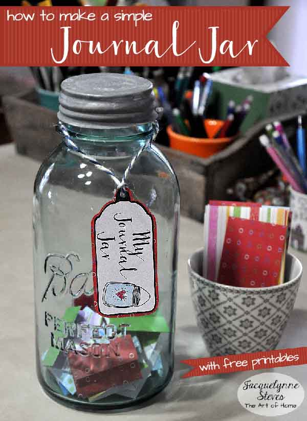 Make a Simple Journal Jar