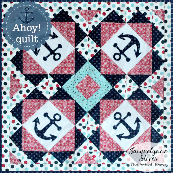 Small & Sweet Mini Quilt Club- Ahoy!