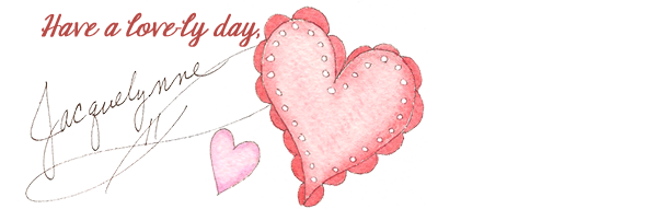 Lovely Day Heart Art- Jacquelynne Steves
